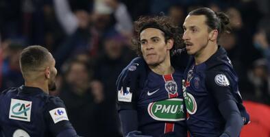 Ibrahimovic clasifica al PSG a octavos de Copa Francia; Rennais y Bastia, eliminados