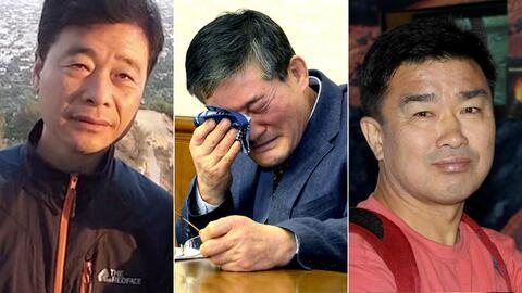Estos son los tres prisioneros estadounidenses que Corea del Norte aún tiene tras las rejas