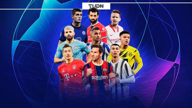 Los clasificados a los Octavos de la Champions League