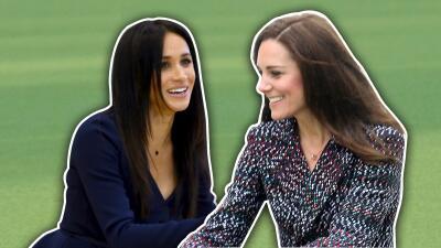 Meghan demuestra que no tiene nada que envidiarle a Kate (y tiene que ver con sus tacones)