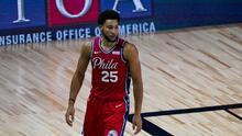 Ben Simmons es baja de los Philadelphia 76ers