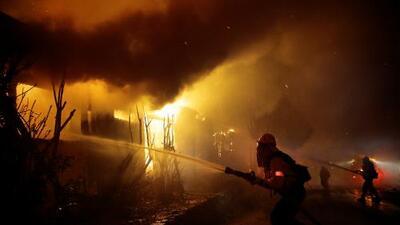 Nuevo incendio avanza rápidamente en Los Ángeles: estas son las áreas de California más afectadas por el fuego