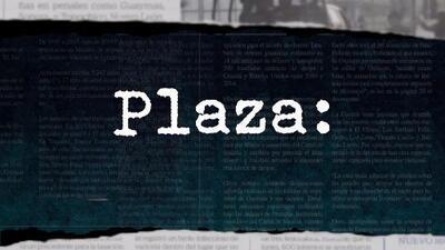 Diccionario Narco: Plaza