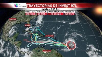 En alerta Puerto Rico ante paso de onda tropical