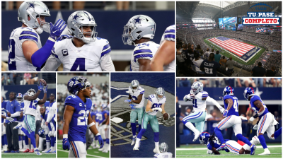 En fotos: Los Cowboys vapulean 35-17 a los Giants