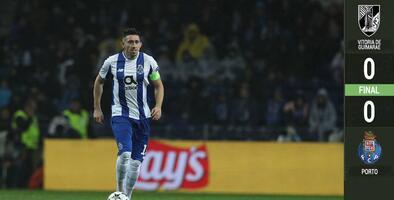 Porto empata ante Guimaraes, pero sigue como líder en Portugal