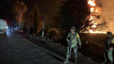 Decenas de personas muertas y al menos 70 heridas deja la explosión de un ducto de gasolina en México