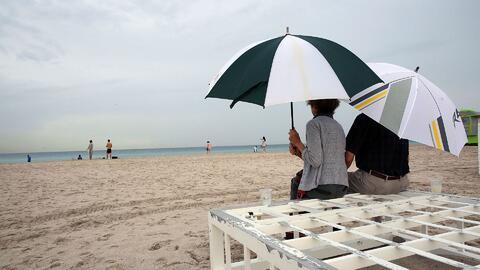 Cielo nublado y probabilidad de lluvias para este jueves en Miami