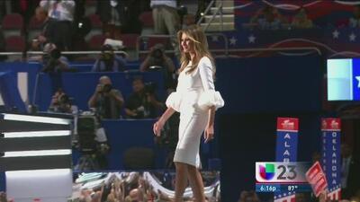 Melania Trump protagoniza una serie de fotos reveladoras