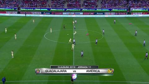 Highlights: América at Guadalajara on March 16, 2019