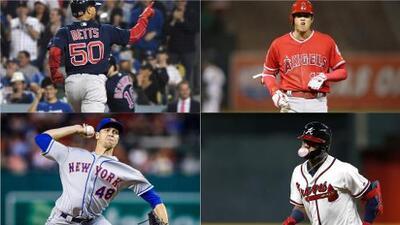 Estos son los nominados a MVP, Cy Young y Novato del Año en la MLB