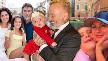 La bebé de Gianluca Vacchi y otros hijos de famosos que han nacido con afecciones