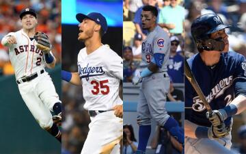 Estos son los jugadores que más votos han recibido para jugar el MLB All Star Game