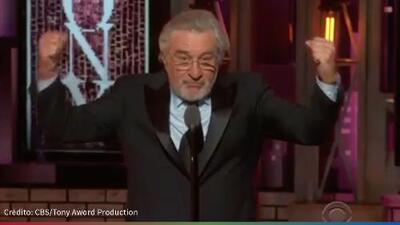 """(Video) Fu*k Trump"""": Robert De Niro dijo lo que muchos no se atreven"""