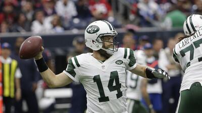 Ryan Fitzpatrick dice que es el hombre correcto para hacer el trabajo por los Jets