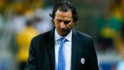 Pizzi renunció como DT de la selección chilena