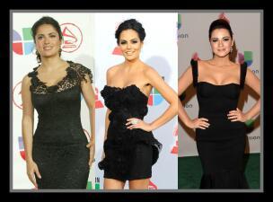 Ellas son las damas de negro, mira quién tiene el mejor estilo