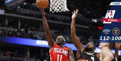 Los Pelicans arruinan el primer juego navideño de Denver en 25 años