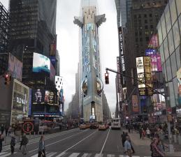 Nueva York como nunca la has visto (ni verás): las extravagantes ideas de arquitectura que no se construyeron