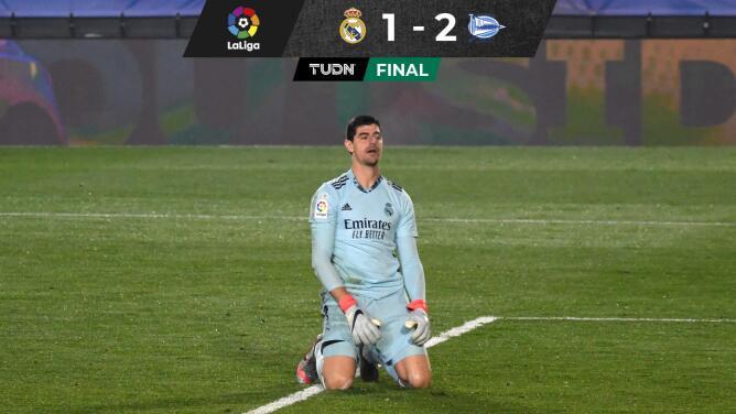 ¿Alarmas encendidas? Real Madrid cayó ante un valiente Alavés