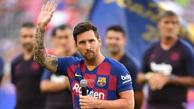 La arenga de Messi a todo el Camp Nou rumbo a la nueva temporada