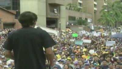 Más protestas en Venezuela