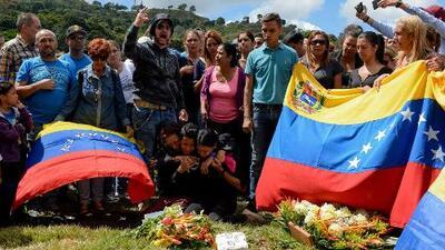 Venezuela, un país en luto la tras muerte del piloto Óscar Pérez