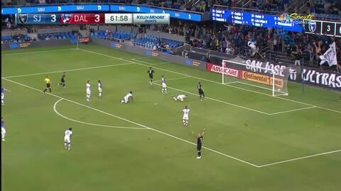 Chris Wondolowski anota su gol 142 en la MLS, tres goles lo separan de empatar el récord histórico