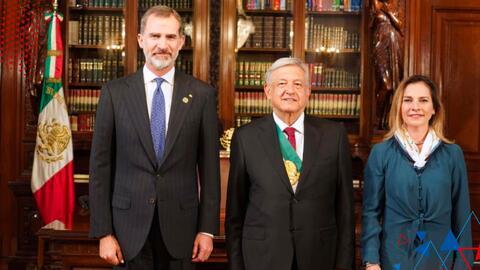 López Obrador pide a España una disculpa por la conquista de México