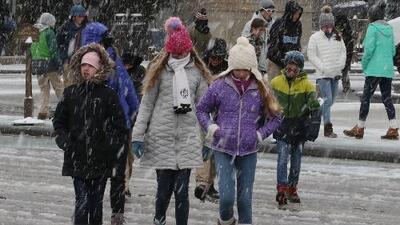 En un minuto: Frente polar hará de este Acción de Gracias uno de los más fríos de la historia