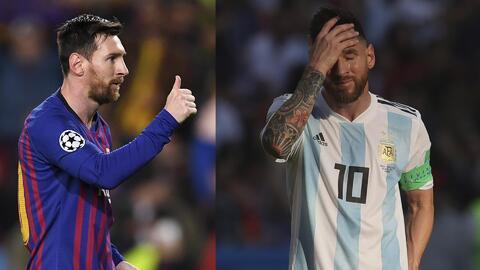 Messi podría tener 'fatiga emocional' en su regreso a la selección de Argentina