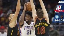 Los 76ers pierden ante los Cavaliers y también a Joel Embiid