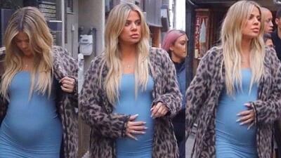 Mucho azul y mucha especulación, pero al final Khloé Kardashian confirma que tendrá una niña