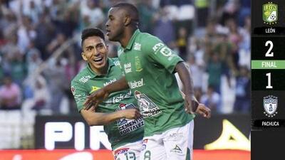 León 2-1 Pachuca - RESUMEN Y GOLES – Clausura 2019 Liga MX