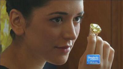 Mira el diamante amarillo que cuesta más de 15 millones