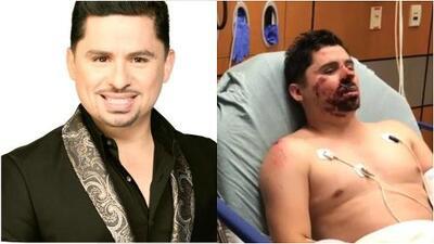 En video: las imágenes de Larry Hernández herido en el hospital tras sufrir un accidente