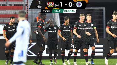 Leverkusen cumplió con el trámite y avanzó a Cuartos de Final