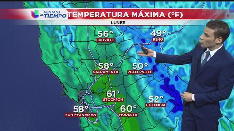 ¡No olvide su paraguas! Sacramento arranca la semana con lluvia