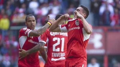 Adrián Mora no se considera el talismán del Toluca