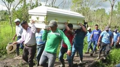 Sepultan en Guatemala a Jakelin Caal, la niña que murió bajo custodia de la Patrulla Fronteriza