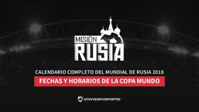 Rusia 2018: México le gana a Alemania en nuestro completo y original calendario de enfrentamientos