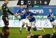 Inter cae ante el Sampdoria y asegura el liderato del Milan