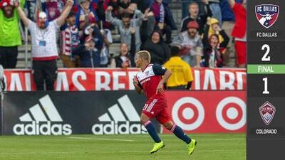 FC Dallas 2-1 Colorado Rapids - RESUMEN Y GOLES – Jornada 4 – MLS