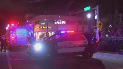 Arrestan a una persona tras un tiroteo cerca de una escuela y una sinagoga en Miami Beach