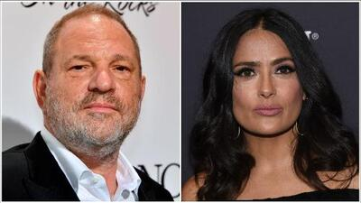 Salma Hayek acusa a Harvey Weinstein de acoso de sexual