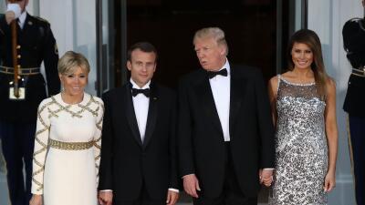 Macron ante el pleno del congreso: el tercer día de visita de Estado del presidente de Francia (fotos)