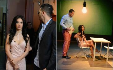 Jessica Cediel protagonizó una nueva versión del video de Romeo Santos en Despierta América