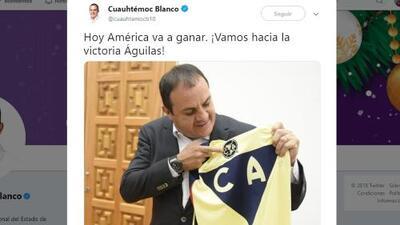 Para Cuauhtémoc Blanco aplica el 'me canso ganso' que América le gana al Cruz Azul