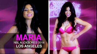 """La bella Mexicana """"Maria Elena Anaya"""" audiciona para Nuestra Belleza Latina 2014"""