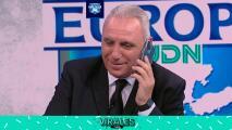 Análisis de Macedonia y Stoichkov habla con su DT en pleno en vivo